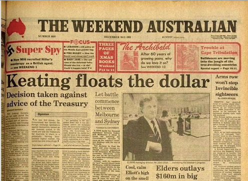 Vital Signs 35 Extraordinary Years What The Float Of Australian Dollar Bought Us