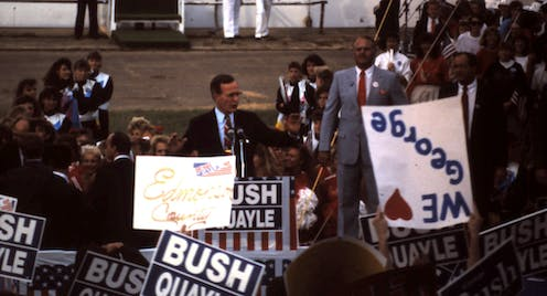 George Bush Sr could have got in on the ground floor of climate action – history would have thanked him