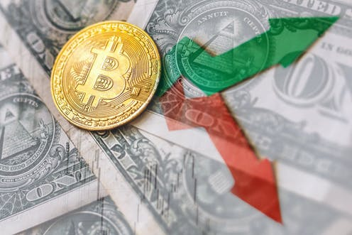 how does the fluctuating cryptocurrency serve as exchange currency