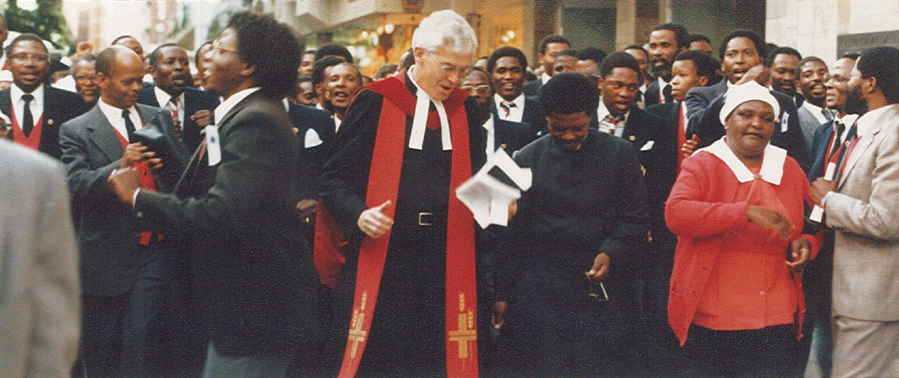 Faith in turbulent times: a priest's autobiography of life under apartheid