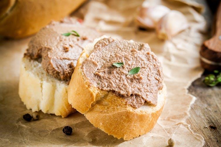 Paté can contain the bacterium Listeria.Ekaterina Kondratova/Shutterstock