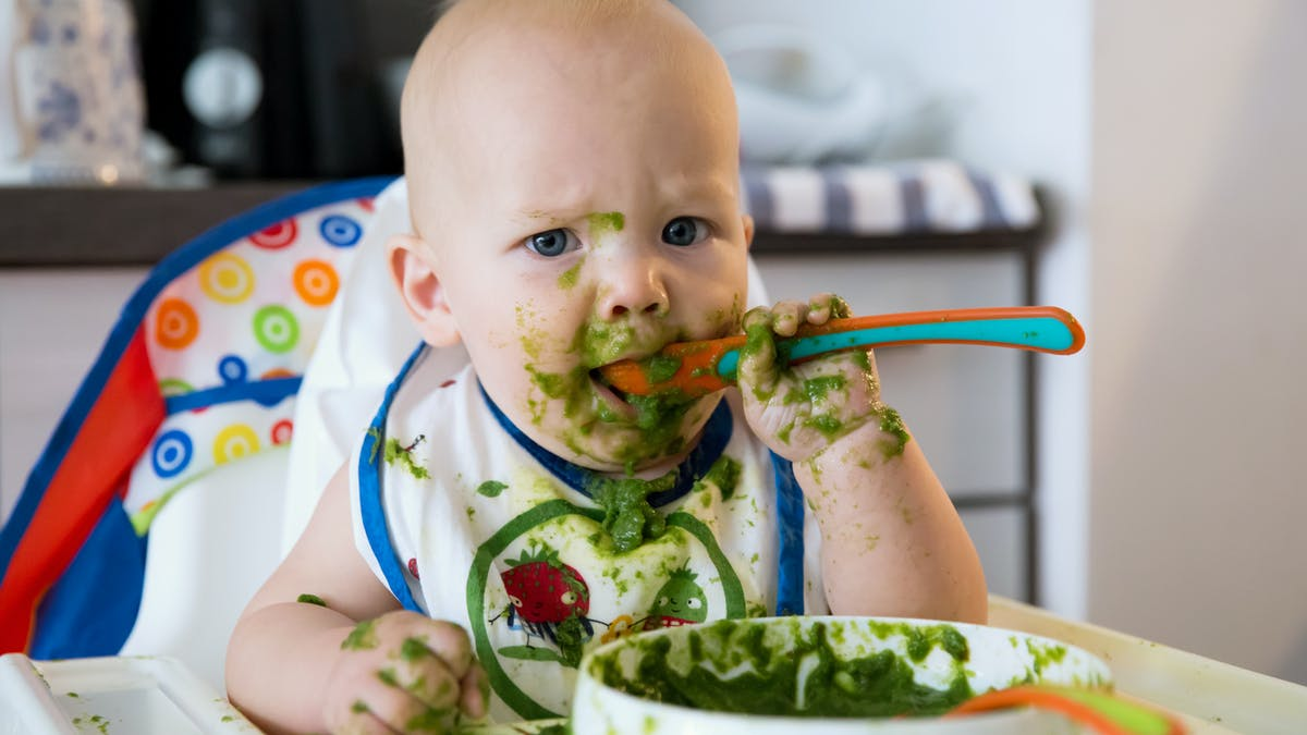 newborns of moms on strict vegan diet