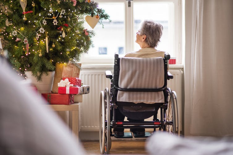 how to deal with dying during the holidays