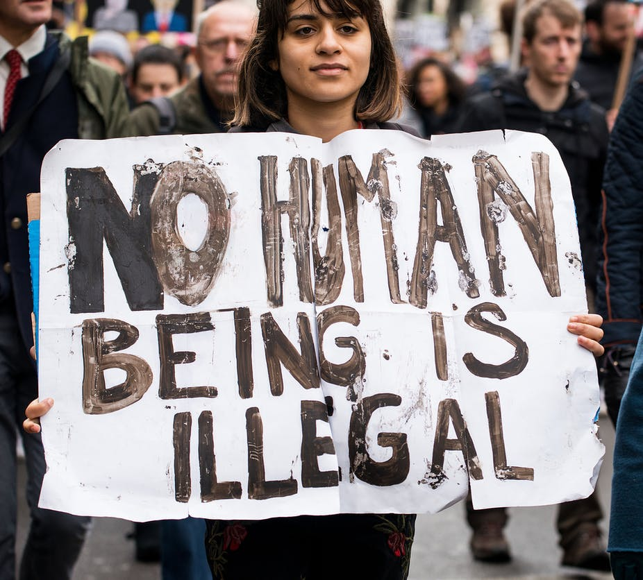 What makes someone an 'illegal immigrant'?