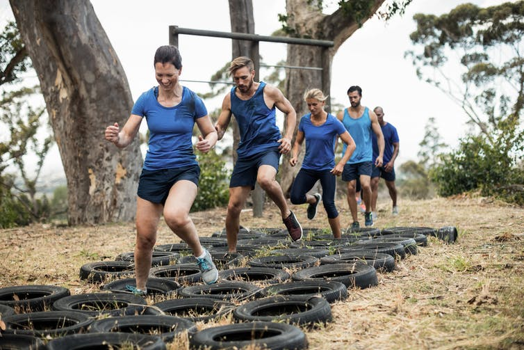 Diversify your training with boot camp. wavebreakmedia/Shutterstock