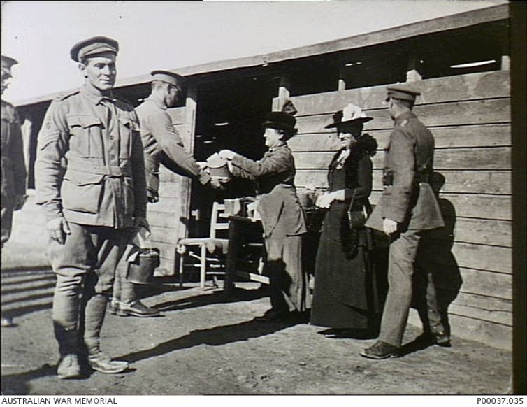 What Australian soldiers ate for Christmas in WWI