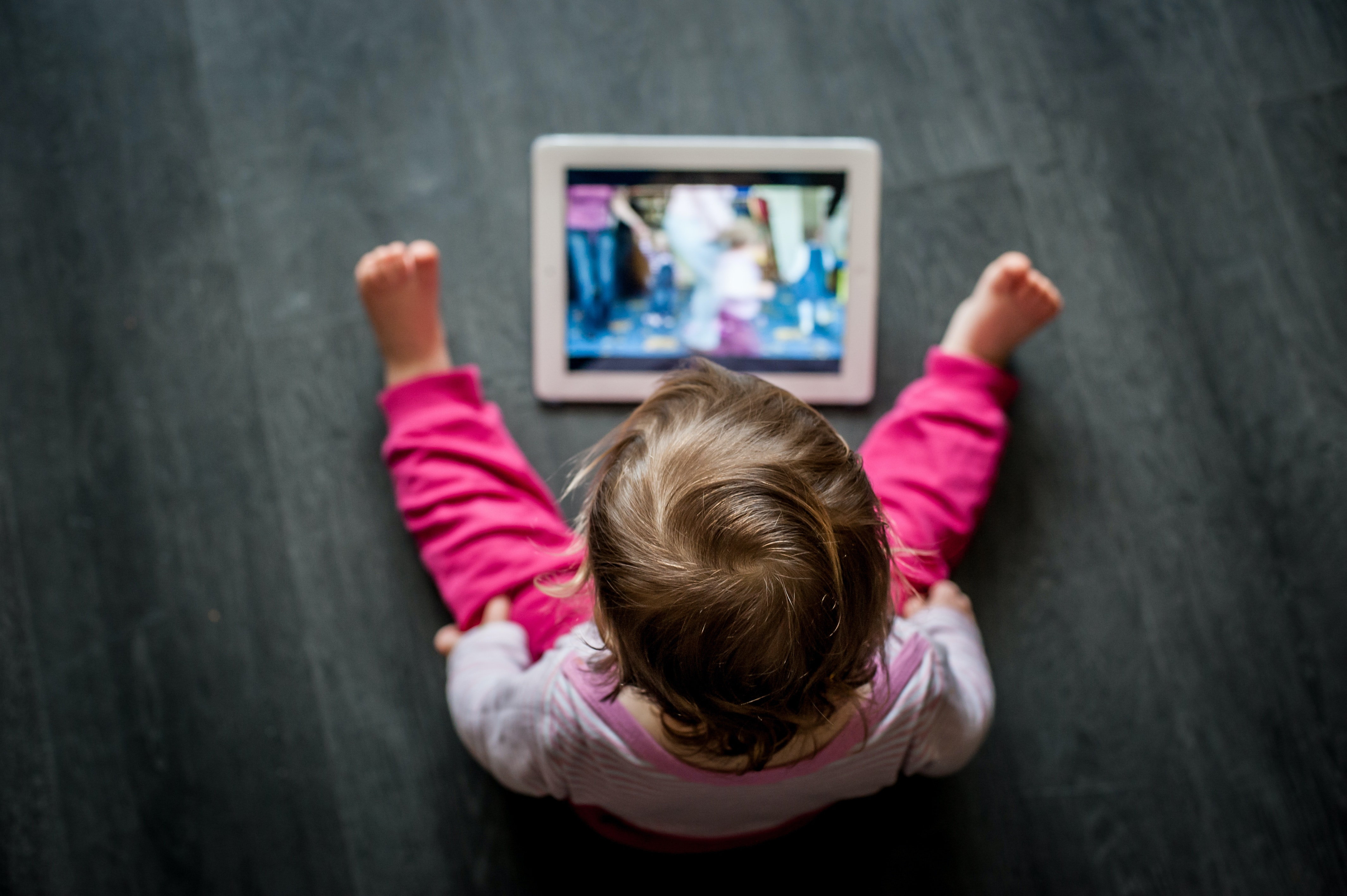 Touchscreens can benefit toddlers – but it's worth choosing your child's apps wisely