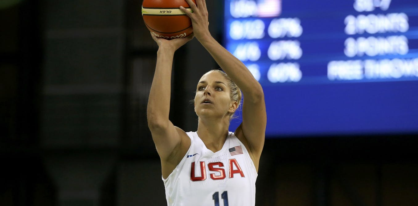 Women are better than men at the free throw line