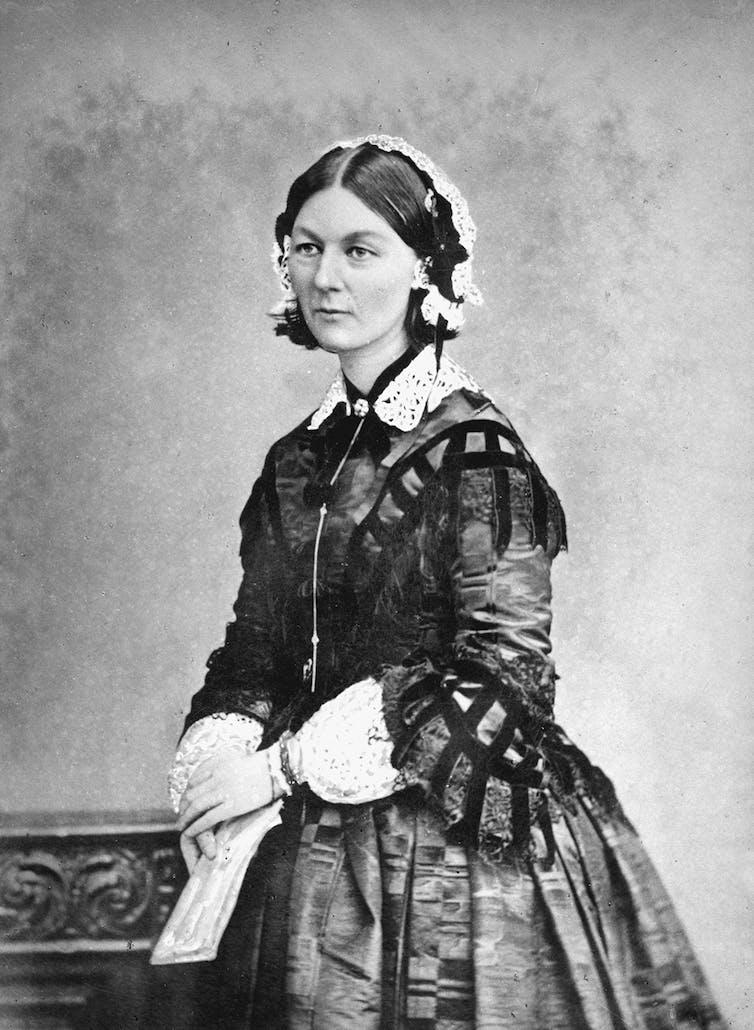 Florence Nightingale dama lámpara