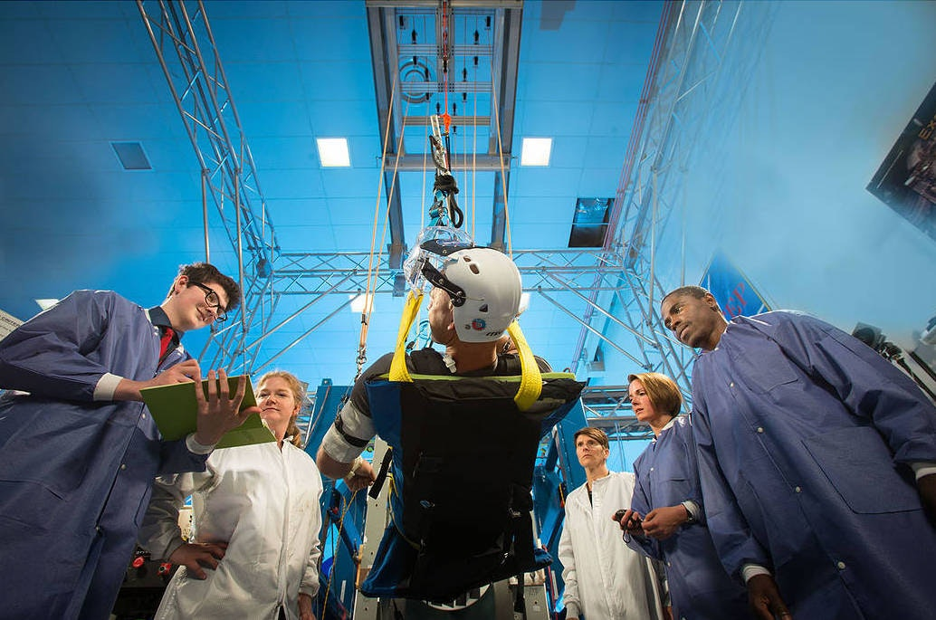 NASA astronaut health project