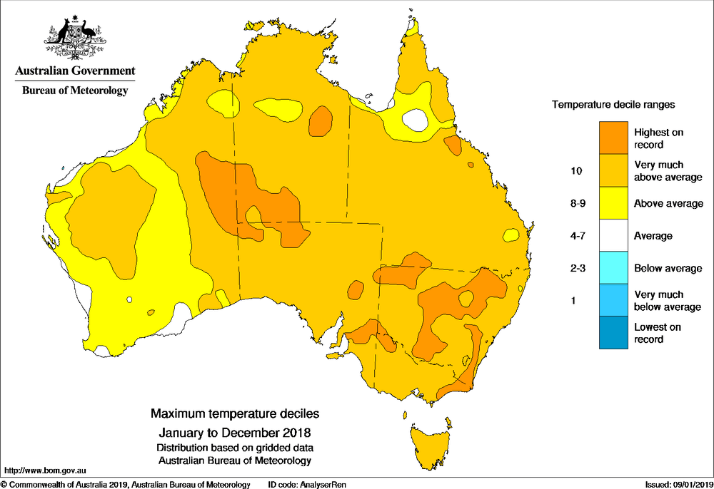 Australia\'s 2018 in weather: drought, heat and fire - Social ...