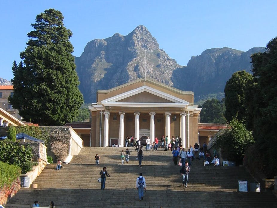The University Of Cape Town S Recent History Matters As Much
