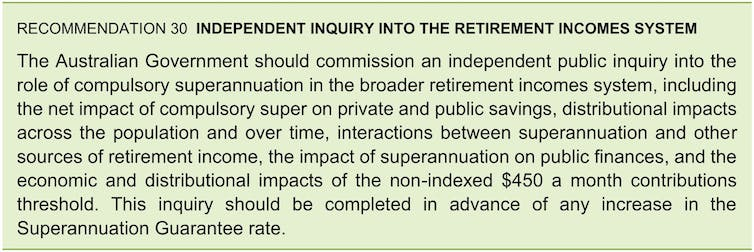 The Productivity Commission inquiry was just the start. It's time for a broader review of super and how much it is needed