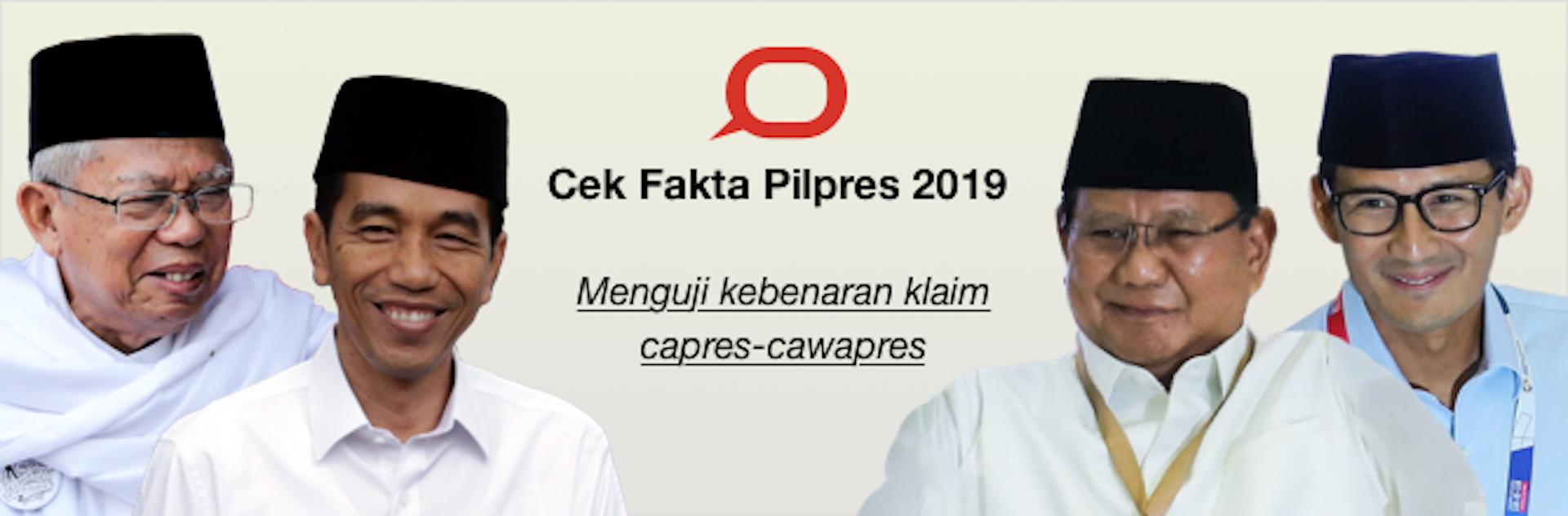 Cek Fakta Pilpres 2019