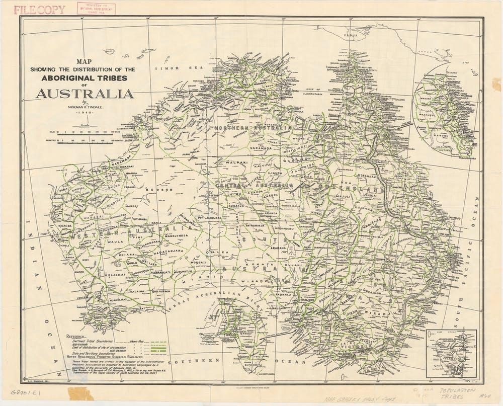 Map Of Australia 1901.The State Of Australia S Indigenous Languages And How We Can Help