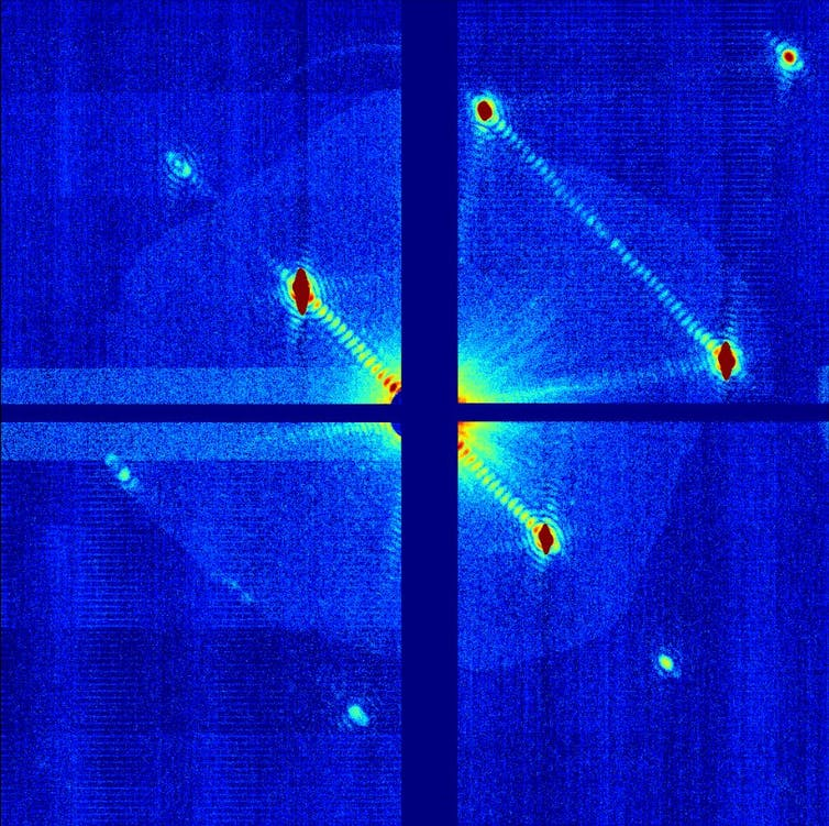 Six images reveal how we 'see' data and capture invisible science