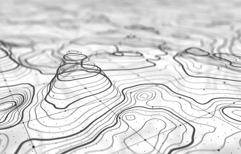 Topographic Map Video Video games could teach spatial skills lost to a society dependent