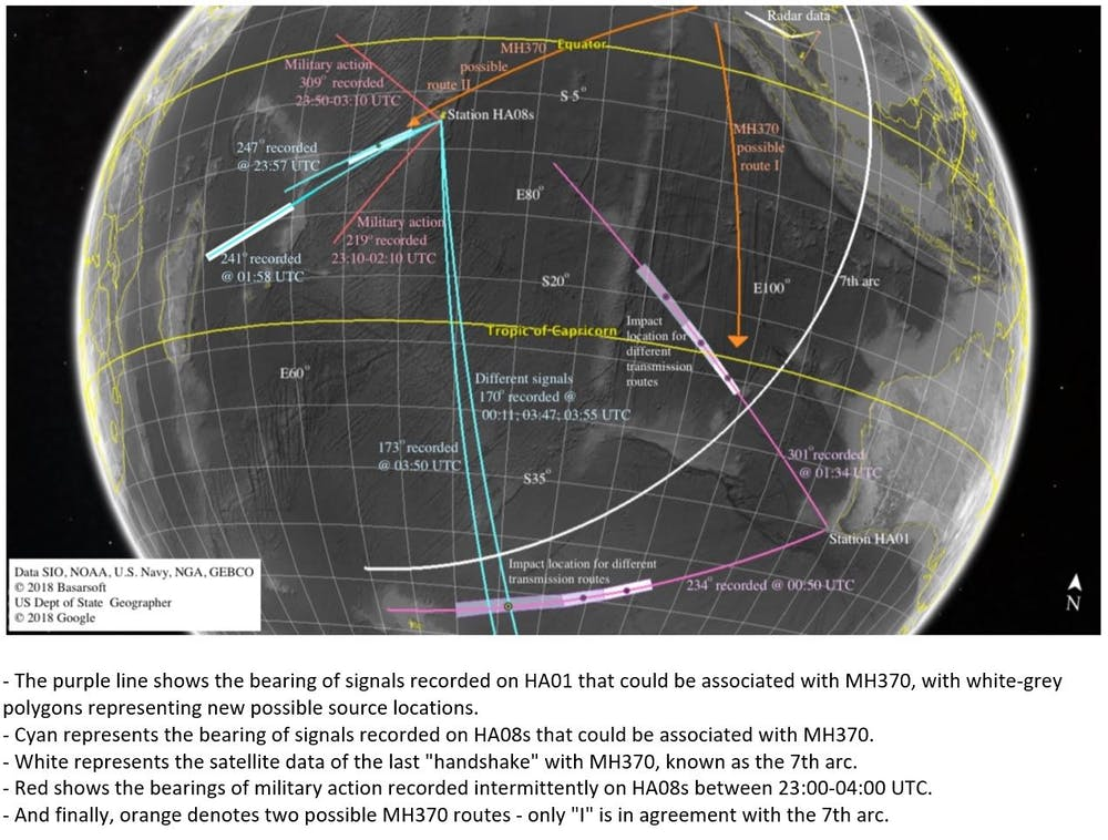 MH370: New underwater sound wave analysis suggests