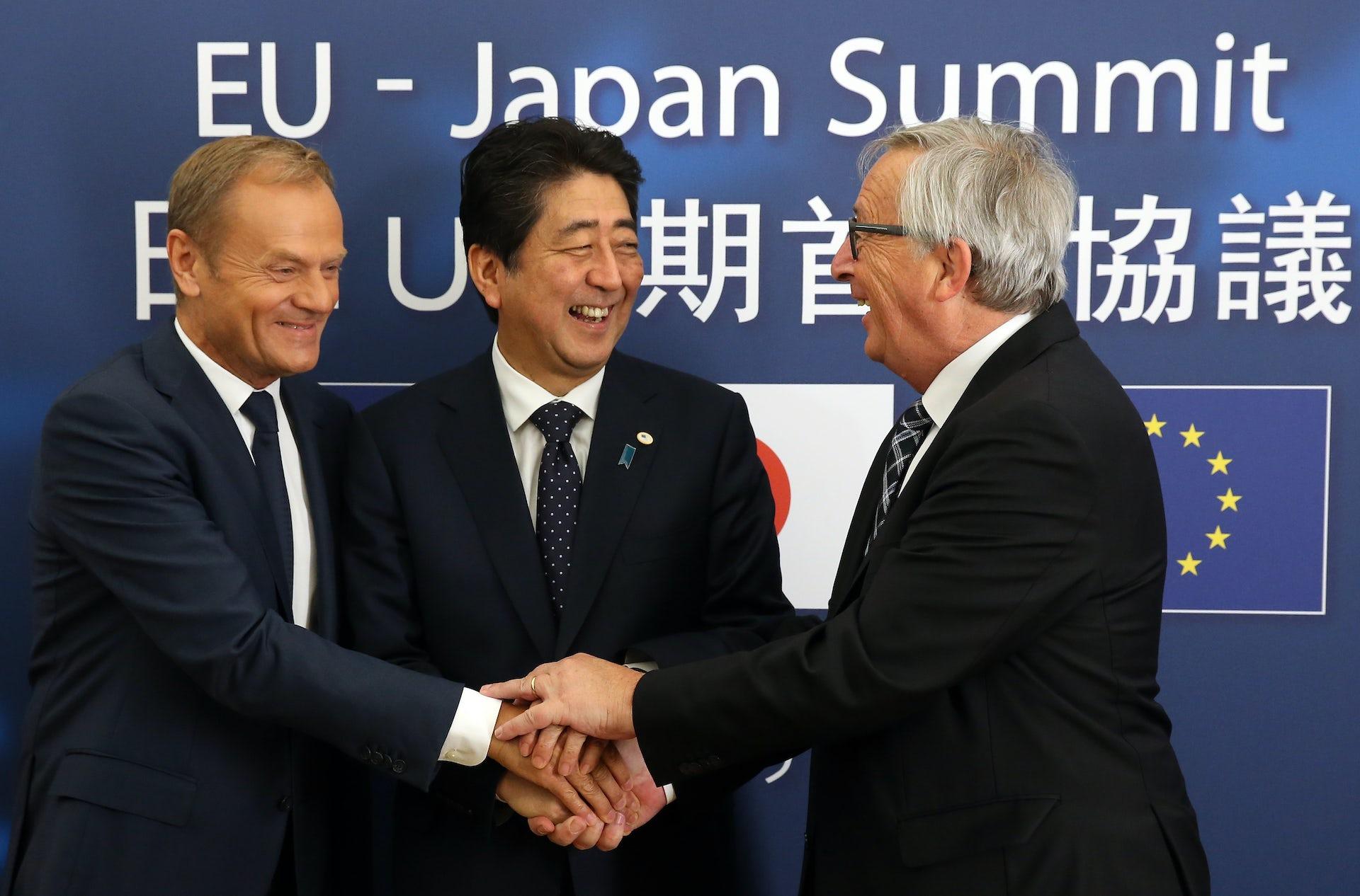 Τίθεται σε ισχύ η εμπορική συμφωνία ΕΕ-Ιαπωνίας