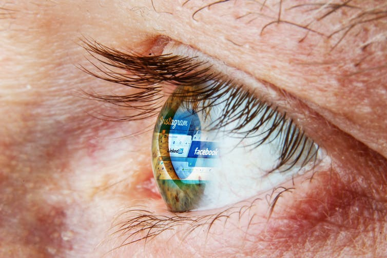 Eye and Facebook
