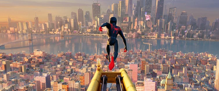 Miles Morales played by Shameik Moore in 'Spider-Man: Into the Spider-Verse.'