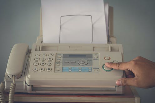Why do people still use fax machines?