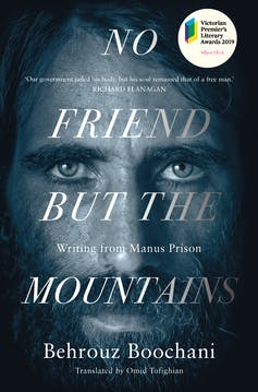 Behrouz Boochani's literary prize cements his status as an Australian writer