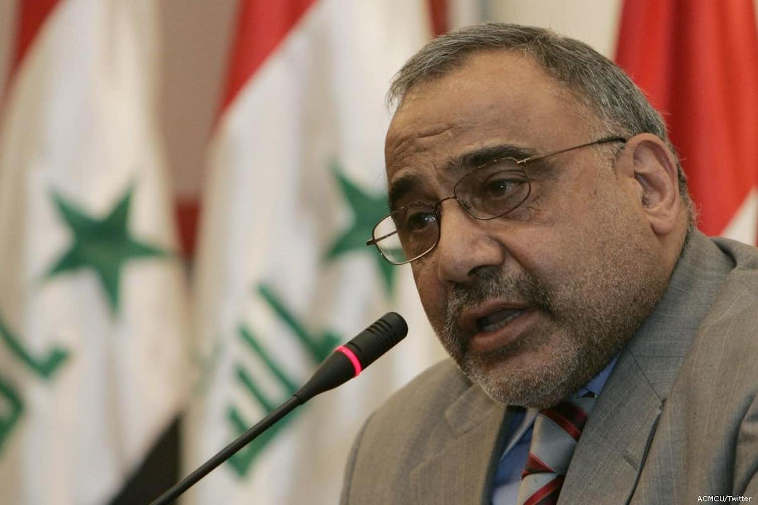 Iraqi Prime Minister Adel Abdul Mahdi leads a Shia-dominated government. Photo credit: ACMCU/Twitter, CC BY