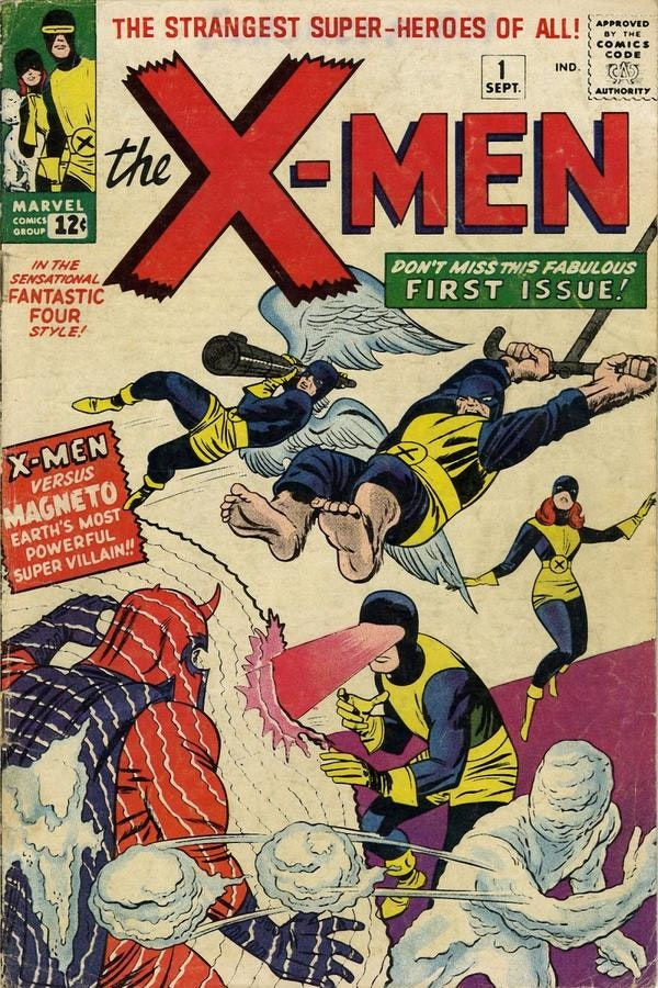 The First Issue of X-Men.