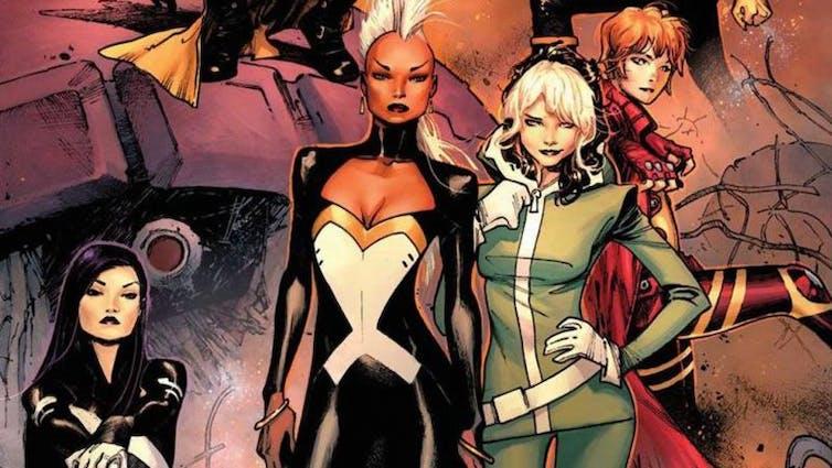 Claremont's X-Women.
