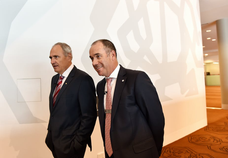 NAB's Andrew Thorburn and Ken Henry quit after royal commission lashing