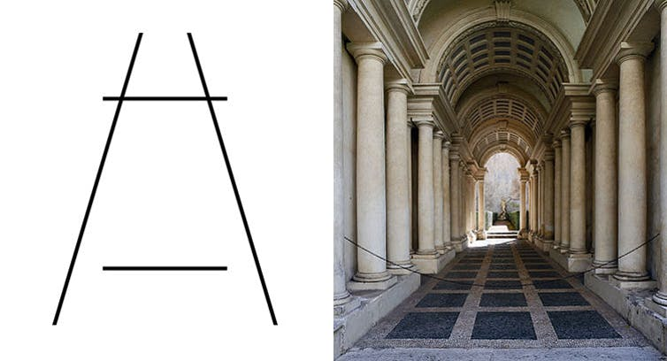 Why visual illusions appear in everyday objects – from nature to architecture