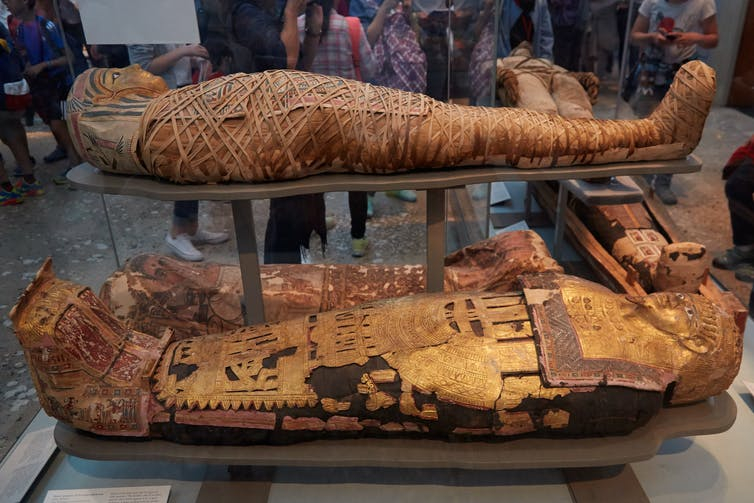who was the first ancient mummy?
