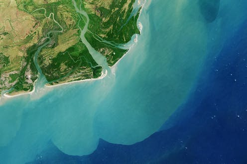 Satellites reveal a new view of Earth's water from space