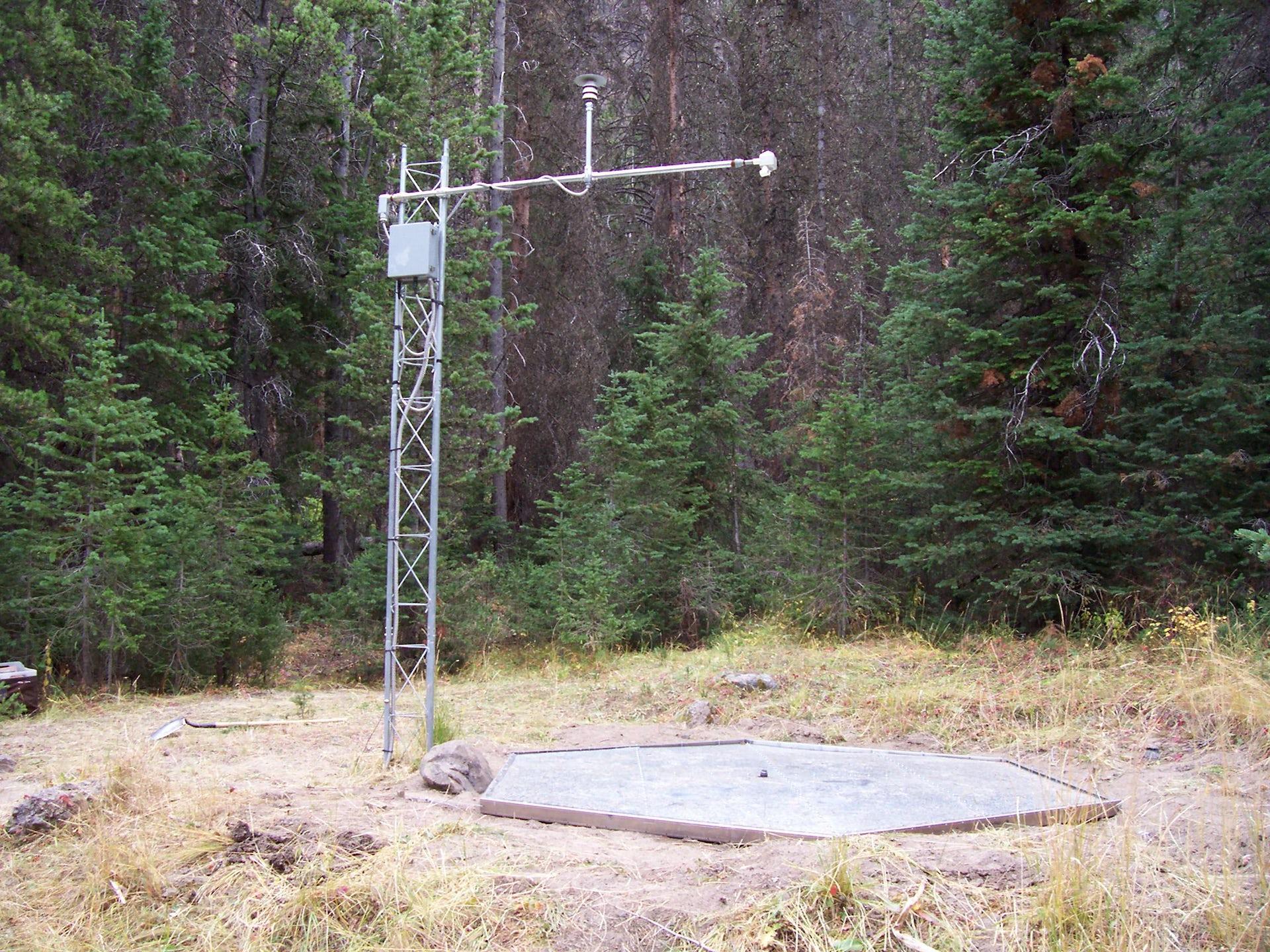 The Embudo Stream gauge project 1998
