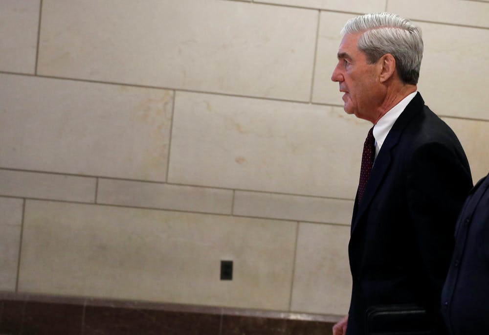 Special Counsel Robert Mueller has submitted his report – but its content remains unknown. Photo credit: Reuters/Aaron P. Bernstein