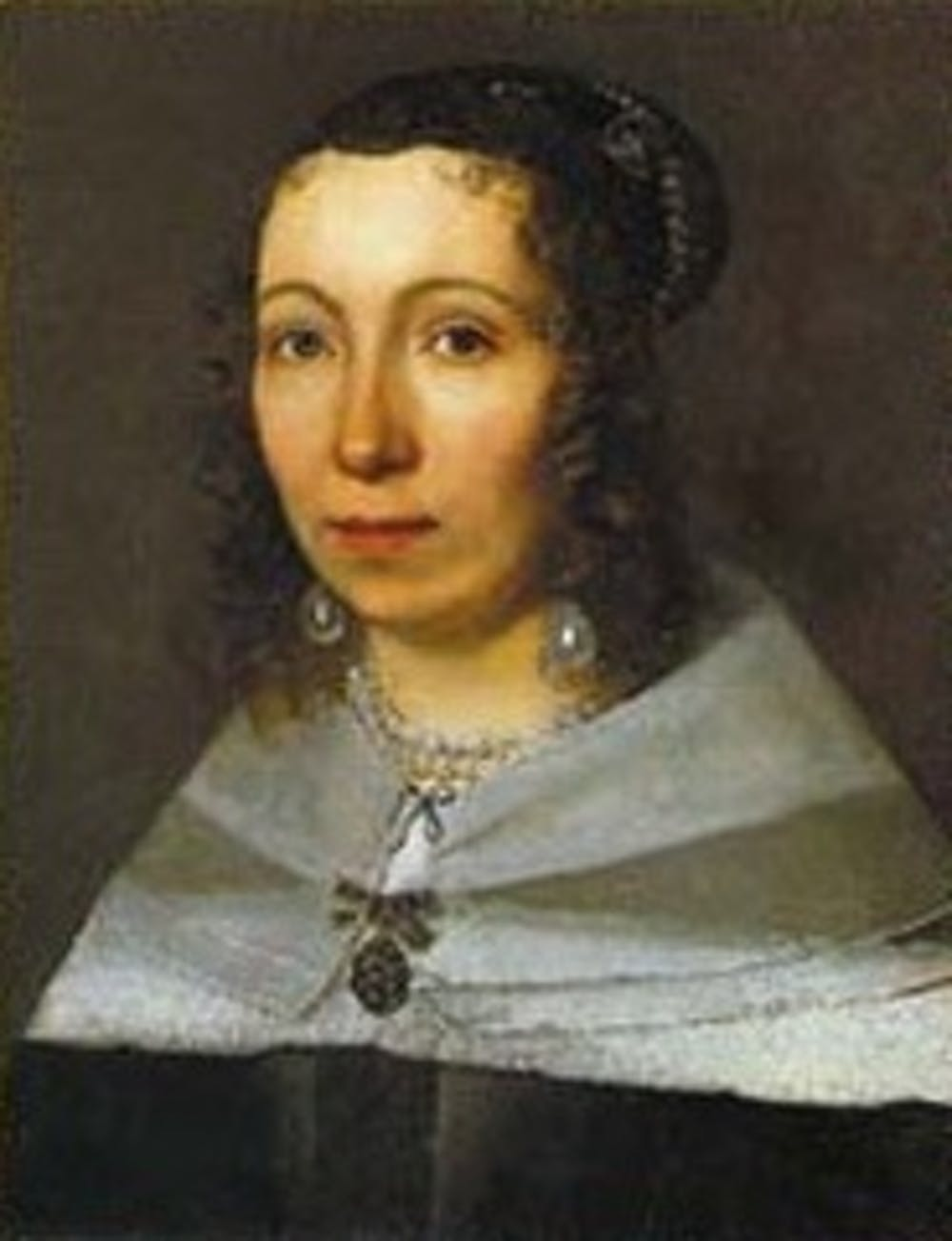 A 17th-century portrait of Maria Sibylla Merian by an unknown artist. Credit: Wikimedia Commons