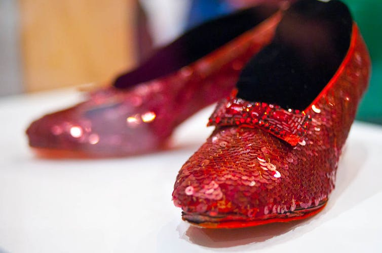 Why Dorothy's red shoes deserve their status as gay icons, even in changing times