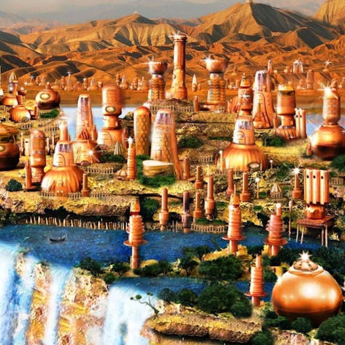 Menggunakan Karya Sastra Untuk Meramalkan Perkotaan Masa Depan