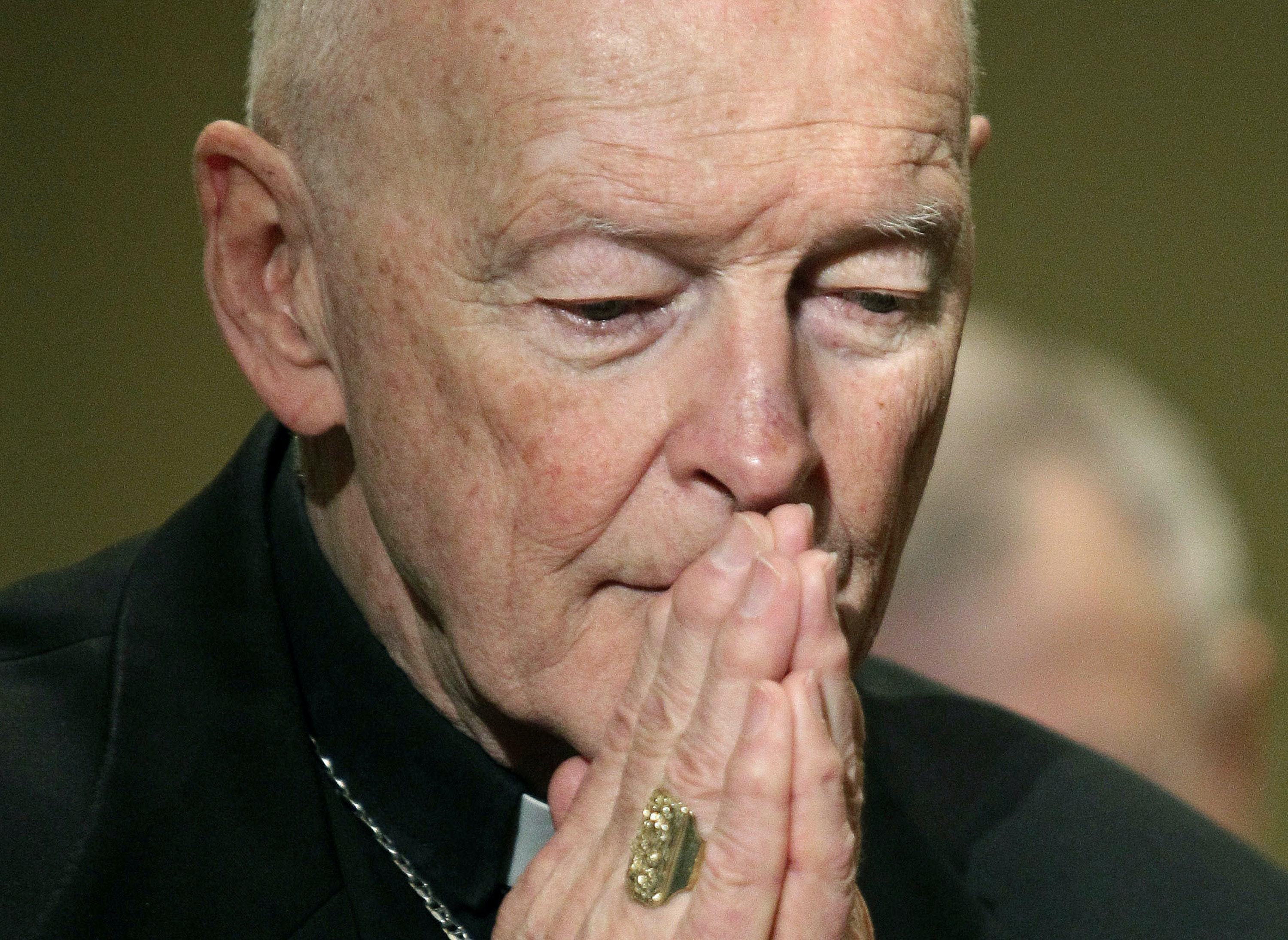 Theodore McCarrick will continue to be a Catholic priest