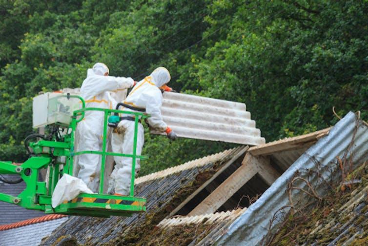 asbestos material building