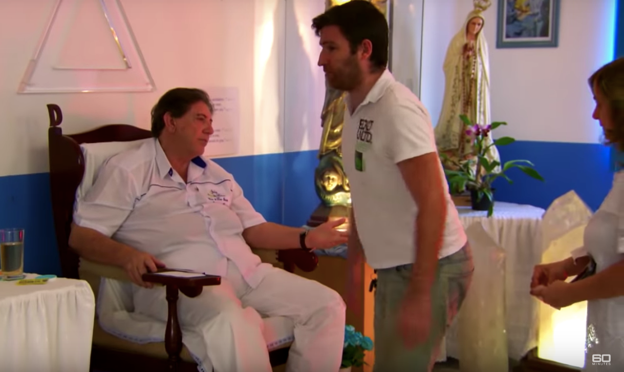 #MeToo catches up with spiritual healers: the case of Brazil's John of God