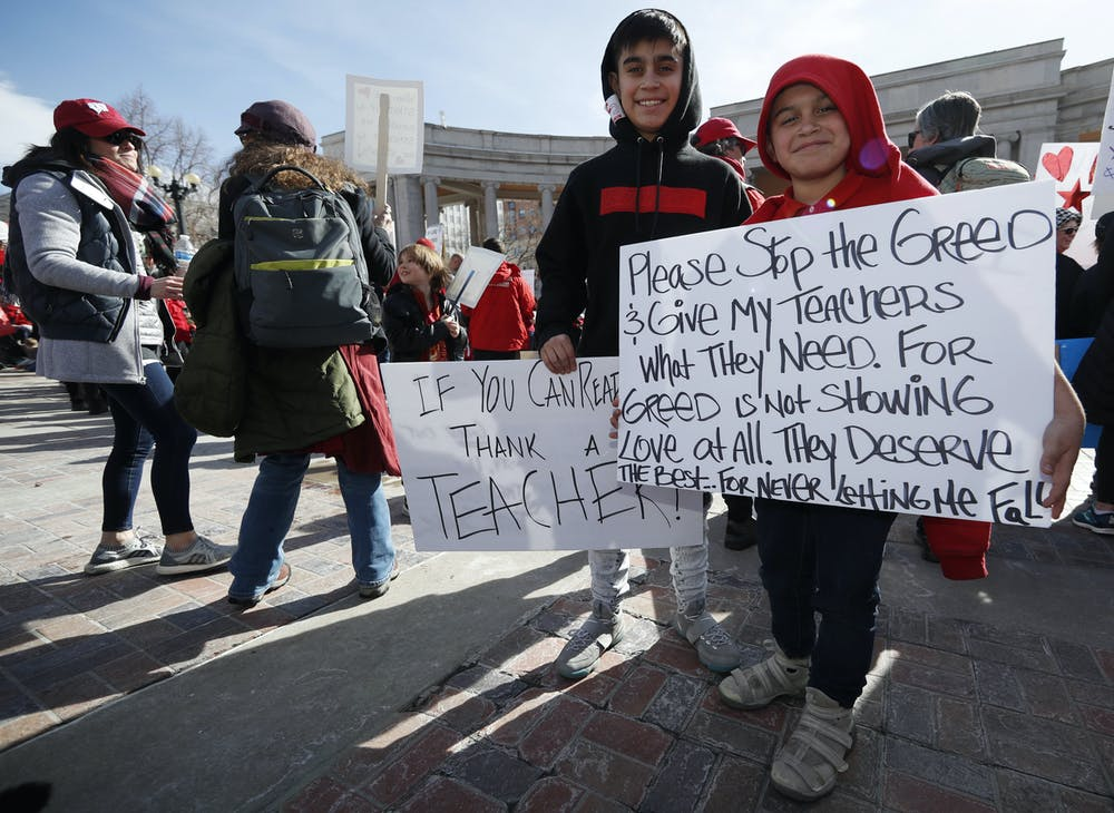 Teachers Union Adopts New Anti Charter >> What S Behind The Teacher Strikes Unions Focus On Social Justice