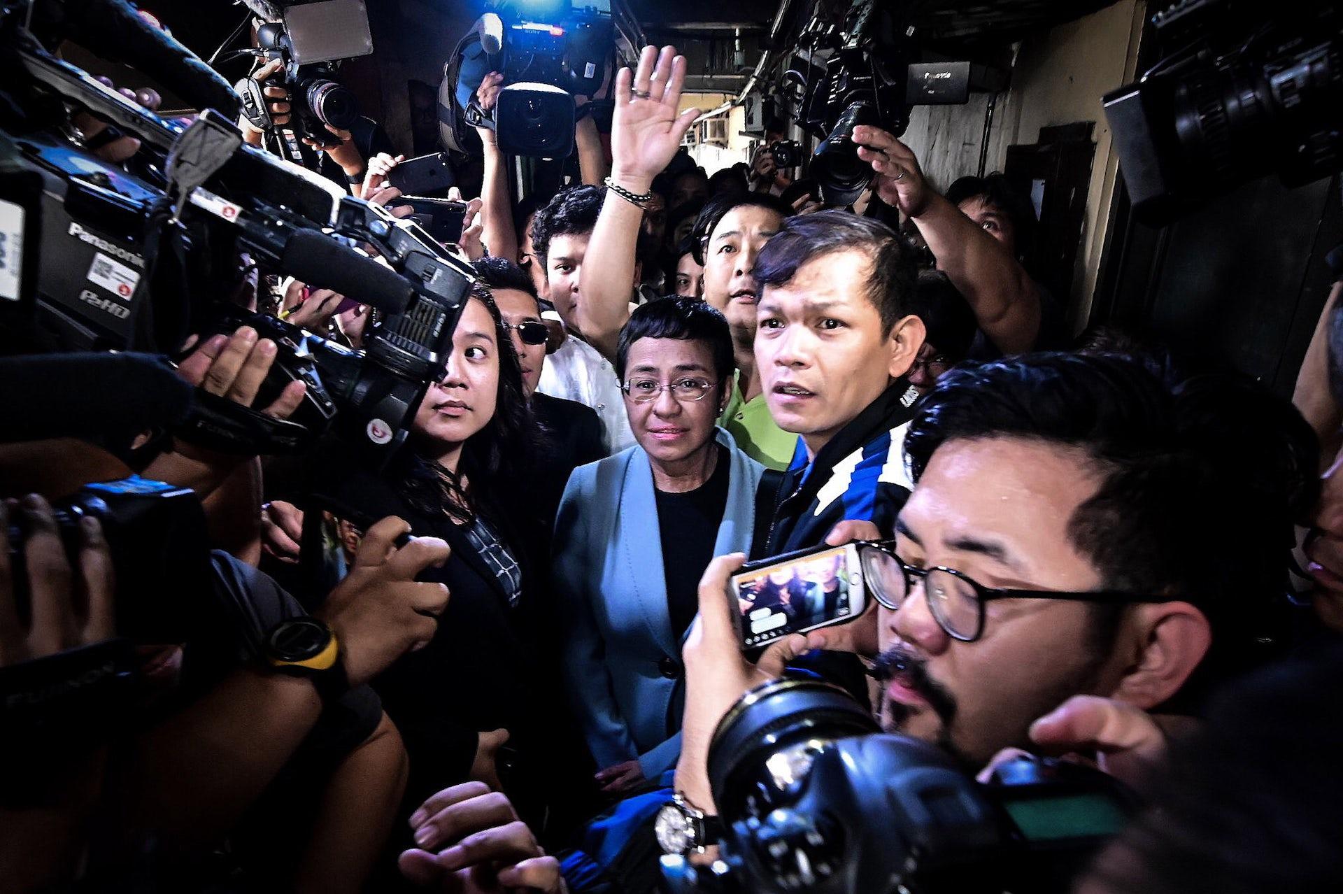 Press freedom under attack: why Filipino journalist Maria Ressa's arrest should matter to all of us