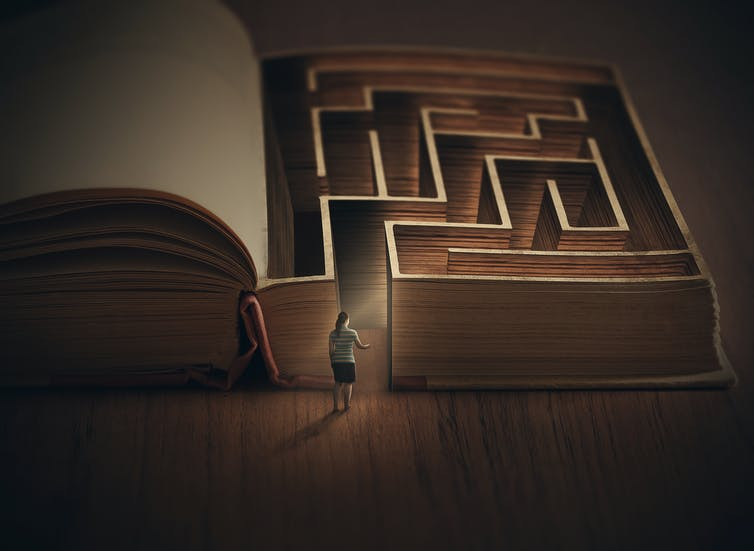 When was the last time you truly got lost in a book?  Amanda Carden/Shutterstock