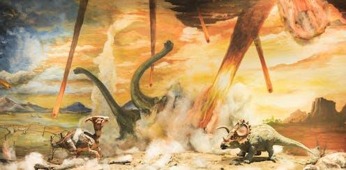 Volcan O Meteorito Nada Nuevo En La Extincion De Los Dinosaurios ¿fue un asteroide quién mató a los dinosaurios? volcan o meteorito nada nuevo en la