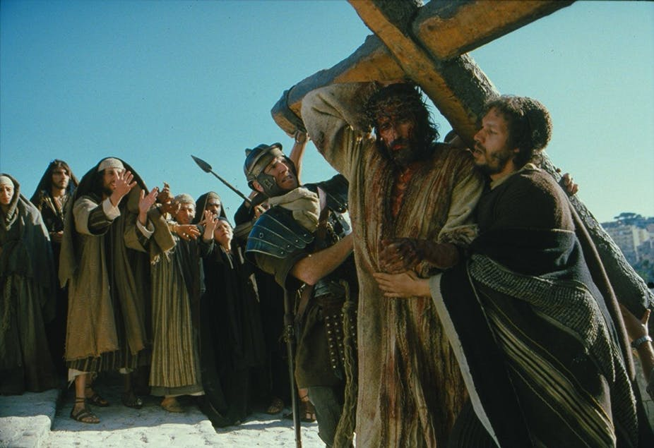 What drives the appeal of 'Passion of the Christ' and other