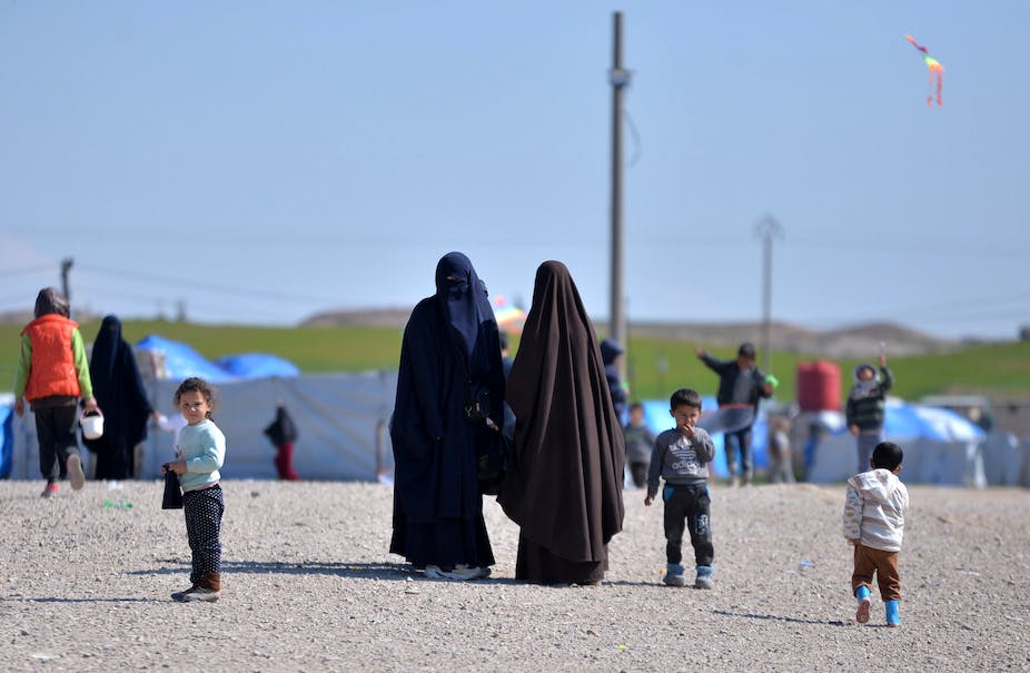 What rights do the children of Islamic State have under