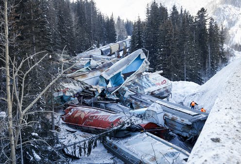 With more oil to be shipped by rail, train derailments show
