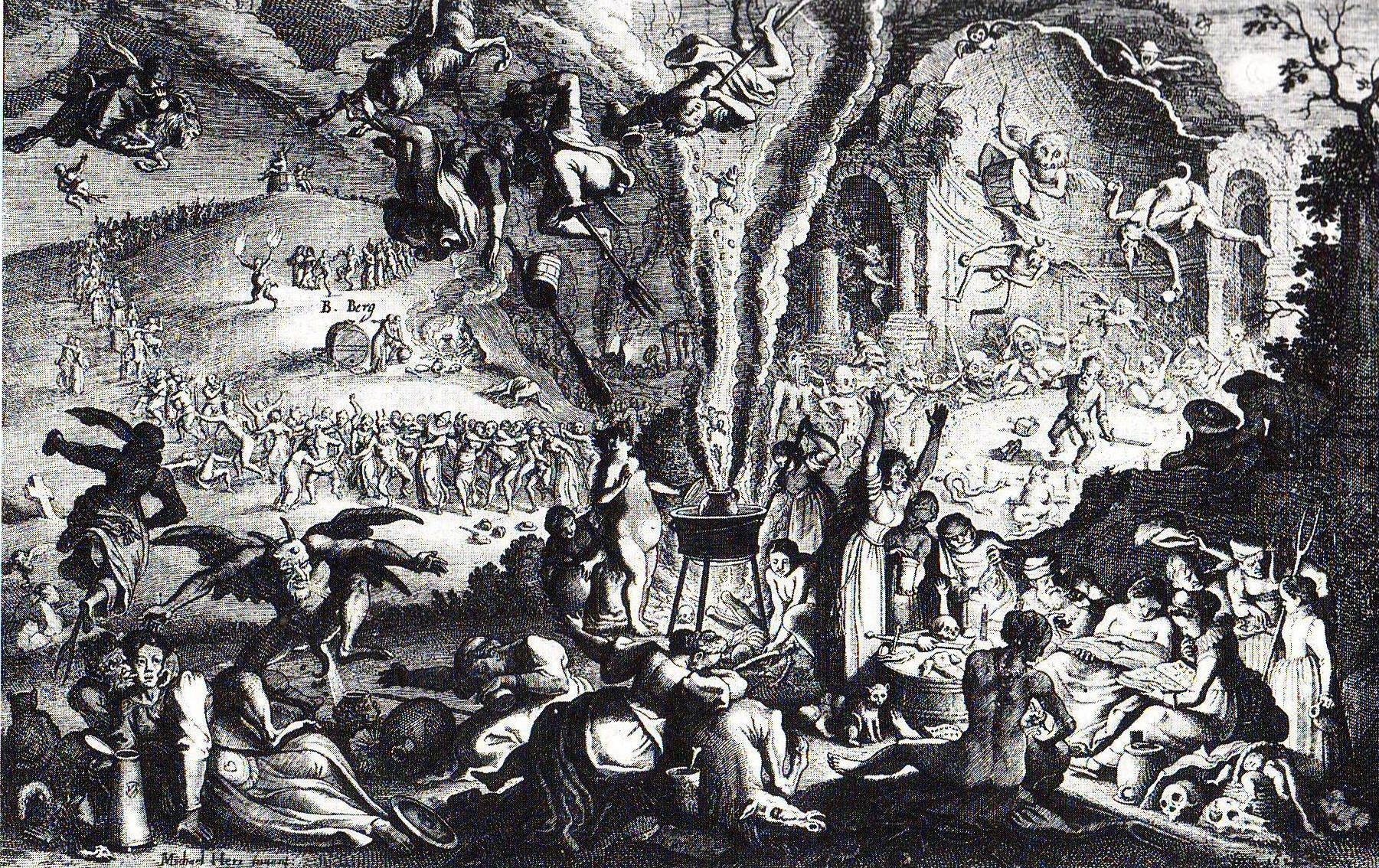 Sábado de brujas en el monte Brocken.Michael Herr / Wikimedia Commons